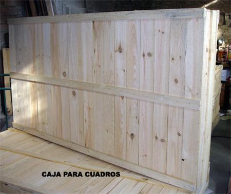 Cajas madera cuadros - Cajas de madera barcelona ...