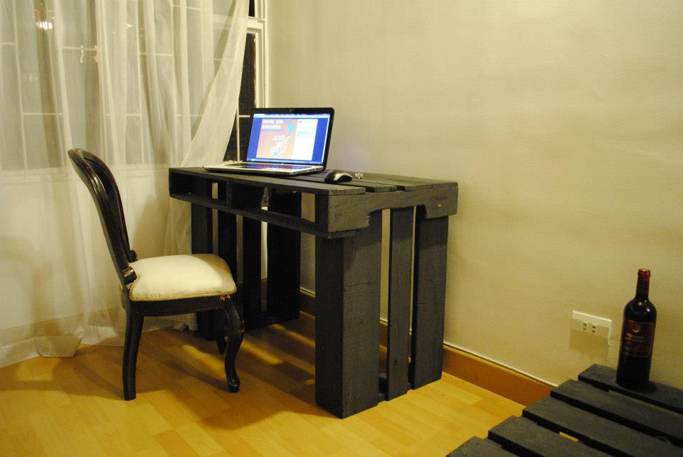 Bases de madera para grandes maquinas - Escritorio de palets ...