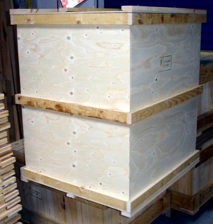 Jaula de madera - Cajas de madera barcelona ...
